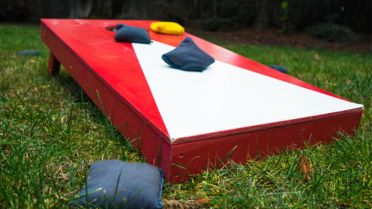 Lunchtime Backyard Games